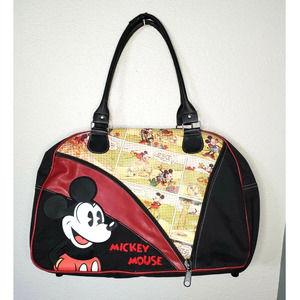 Disney Vintage Mickey Comic Duffle Bag Suitcase